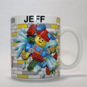 Set of LEGOLAND Orlando Personalized Coffee Mugs